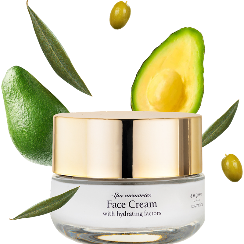 Face Cream with Hydrating Factors (with avocado)