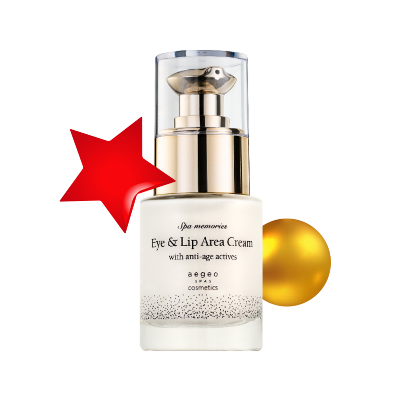 Eye and Lip Area Cream with anti-age actives
